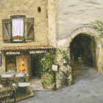 Cafe at Moustiers