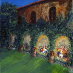Dinner in the Cloisters